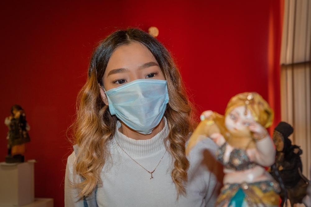 Международная выставка авторской интерьерной куклы открылась в Алматы.