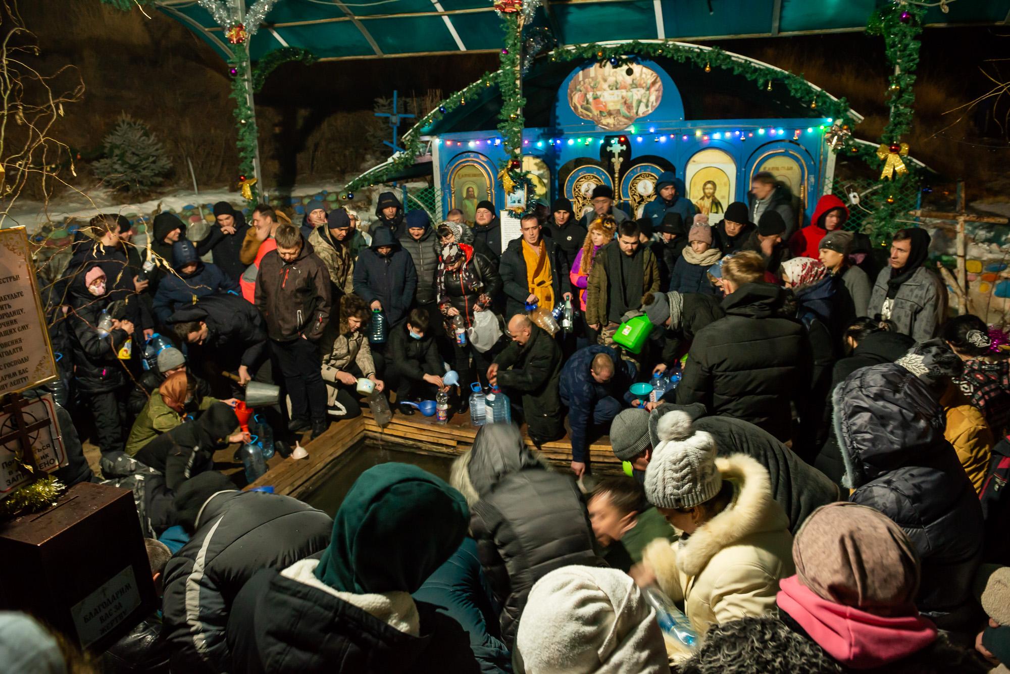 Как отметили праздник Крещения в Алматинской области