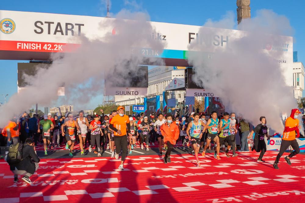Как прошел Алматинский марафон