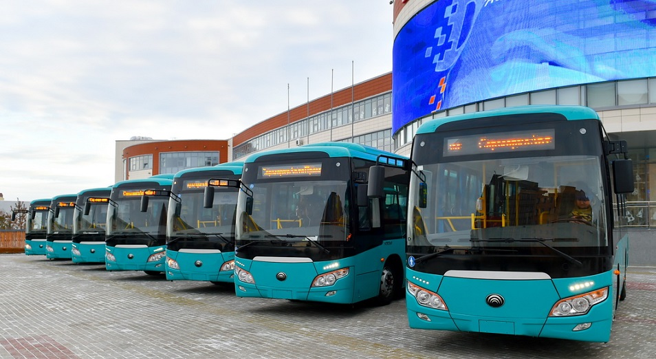 В Петропавловске вышли на маршрут новые автобусы