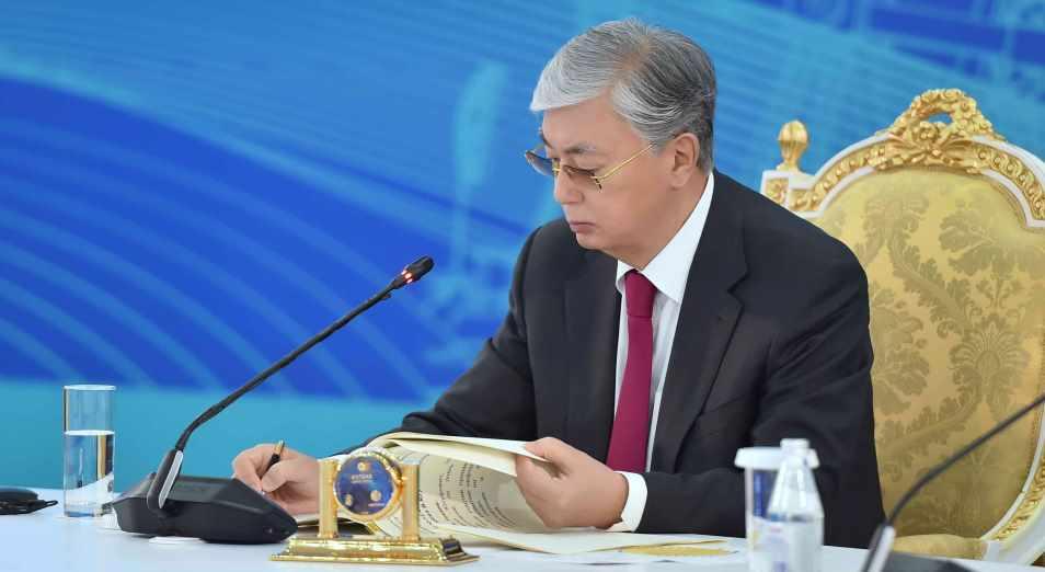 Токаев утвердил Национальный план развития страны до 2025 года