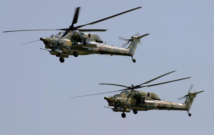 Казахстан получит в 2016 году четыре вертолета Ми-35М
