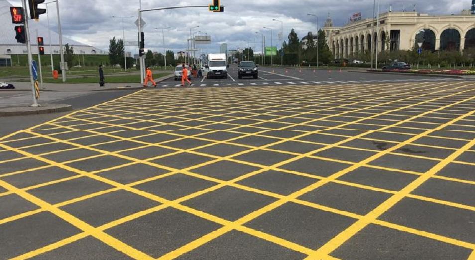 Астанада жаңа жол белгісі пайда болды