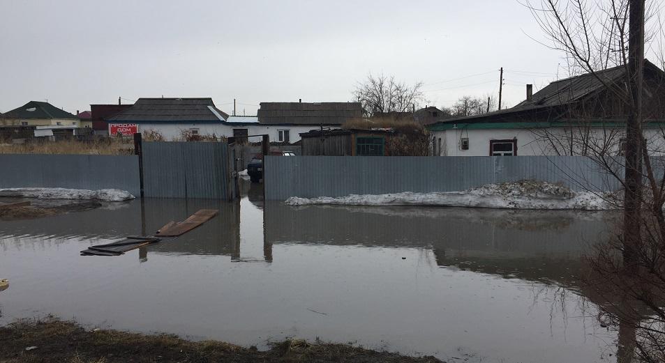 Павлодарской области угрожают весенние паводки