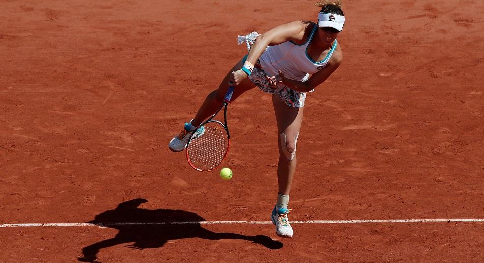 Казахстан уперся в свой потолок на Roland Garros