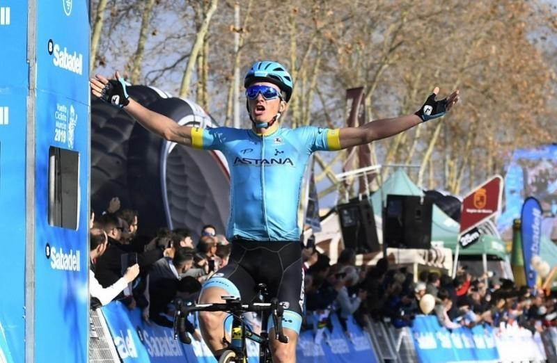 Astana Pro Team: третья победа на «Вуэльте Мурсии»