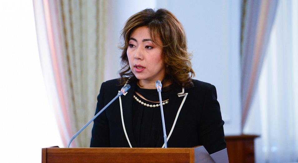 Министр Әбілқасымова жұмыста жоқ