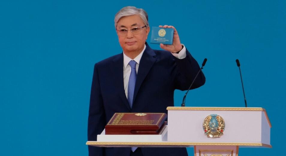 Касым-Жомарт Токаев вступил в должность теперь уже избранного Президента Казахстана
