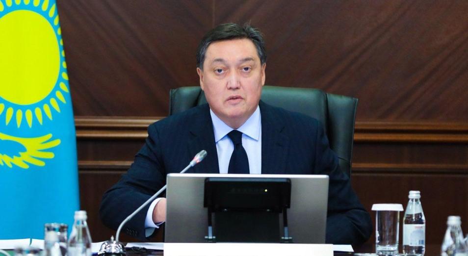 Аскар Мамин поручил наказать заместителей акимов некоторых регионов