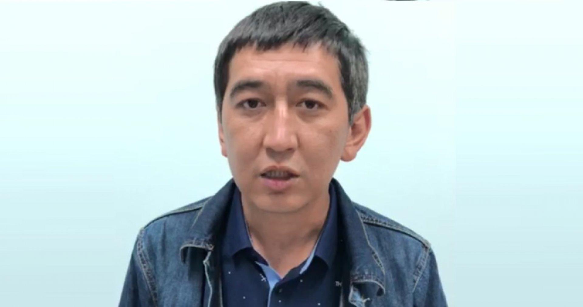 В полиции Алматы разъяснили ситуацию с задержанием Рината Заитова