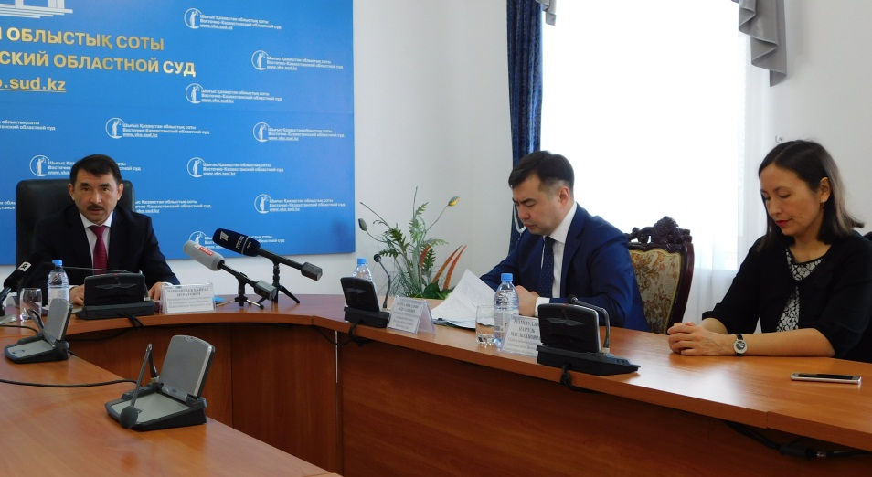 Только треть решений экономического суда ВКО обжалуется в апелляционной инстанции