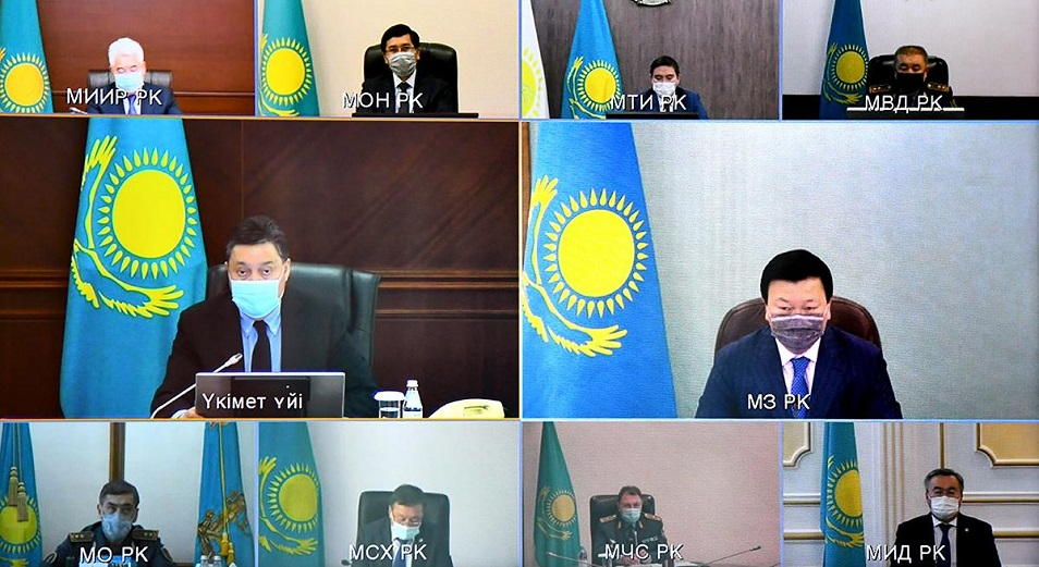 МВК: какие меры приняли по ужесточению карантина в Казахстане