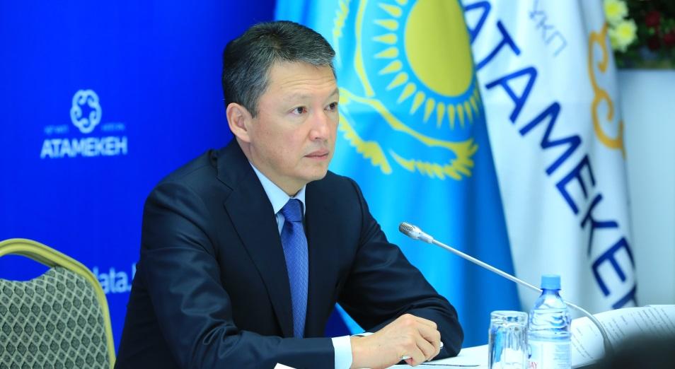 Тимур Кулибаев: «Атамекен» поддерживает национализацию кадров в иностранных компаниях