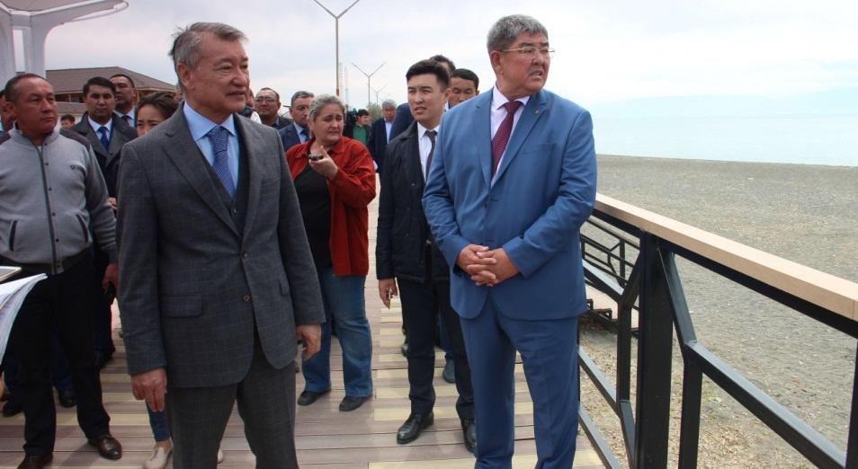 Даниал Ахметов изменит облик озера Алаколь