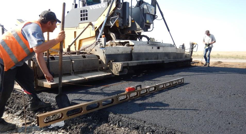 Как идет реконструкция трассы, связывающей Костанайскую область и Западный Казахстан
