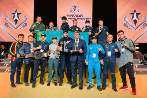 Қазақстан құрамасы Әлем чемпионатында 7 медаль иеленді