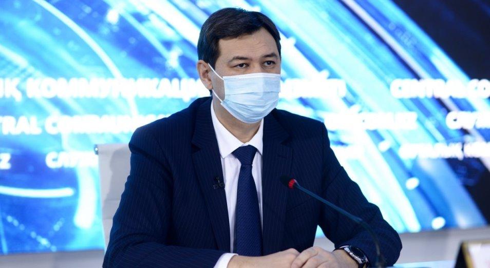 Ерлан Киясов: В Казахстане отмечается умеренный темп вакцинации населения от COVID-19