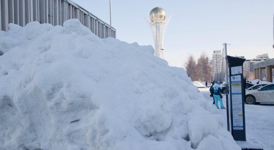 Предстоящая зима в Казахстане будет холоднее нормы