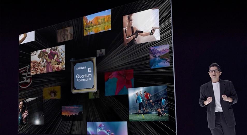 Samsung устроила онлайн-показ своих TV-новинок для казахстанцев
