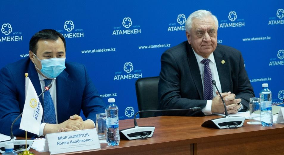 НПП «Атамекен» и ЕЭК обсудили острые вопросы
