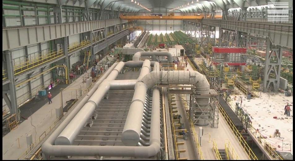 Tenaris запустил трубный завод в Актау
