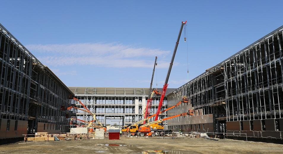 На Тенгизе началось масштабное строительство