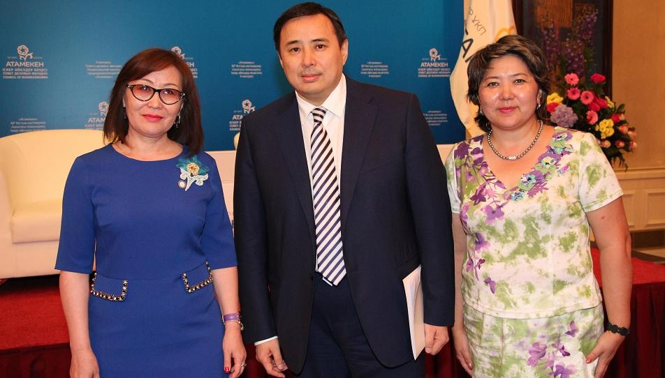 Рынок женского предпринимательства является одним из самых быстрорастущих, НПП Атамекен,Мырзахметов,Ляззат Рамазанова,Деловые женщины