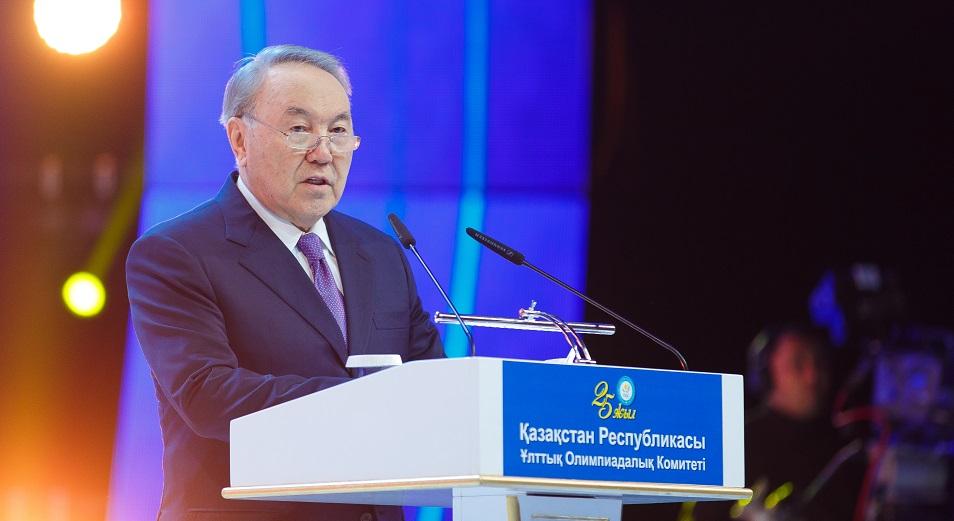 Назарбаев: «Казахстан стал достойным членом олимпийской семьи»