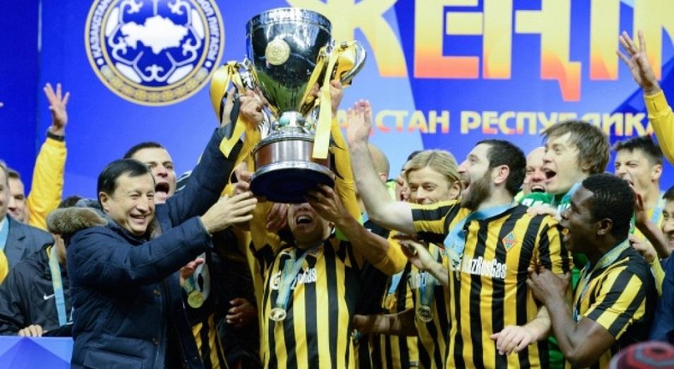 «Кайрат» готов обновить рекорд Кубка Казахстана по футболу
