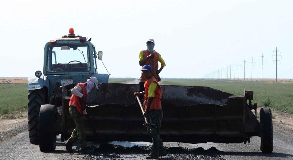 Дорогу Атырау – Астрахань отремонтируют в 2017 году, ремонт дорог,Нурлан Ногаев,Бактыкожа Измухамбетов,Нурлы жол,Бейнеу-Шалкар