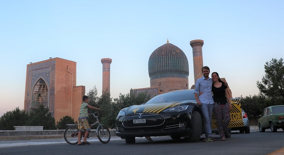 Путешествие на Tesla, Швейцария ,путешествие ,Tesla ,Центральная Азия,электромобиль ,туризм