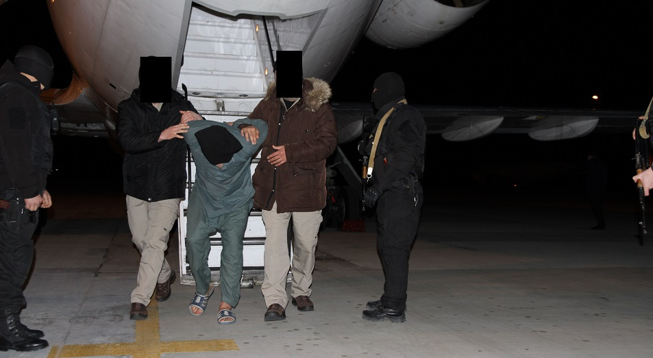 Подозреваемый в подготовке терактов в Атырау экстрадирован в Казахстан, Афганистан,терроризм,Атырау,Солдаты халифат,КНБ