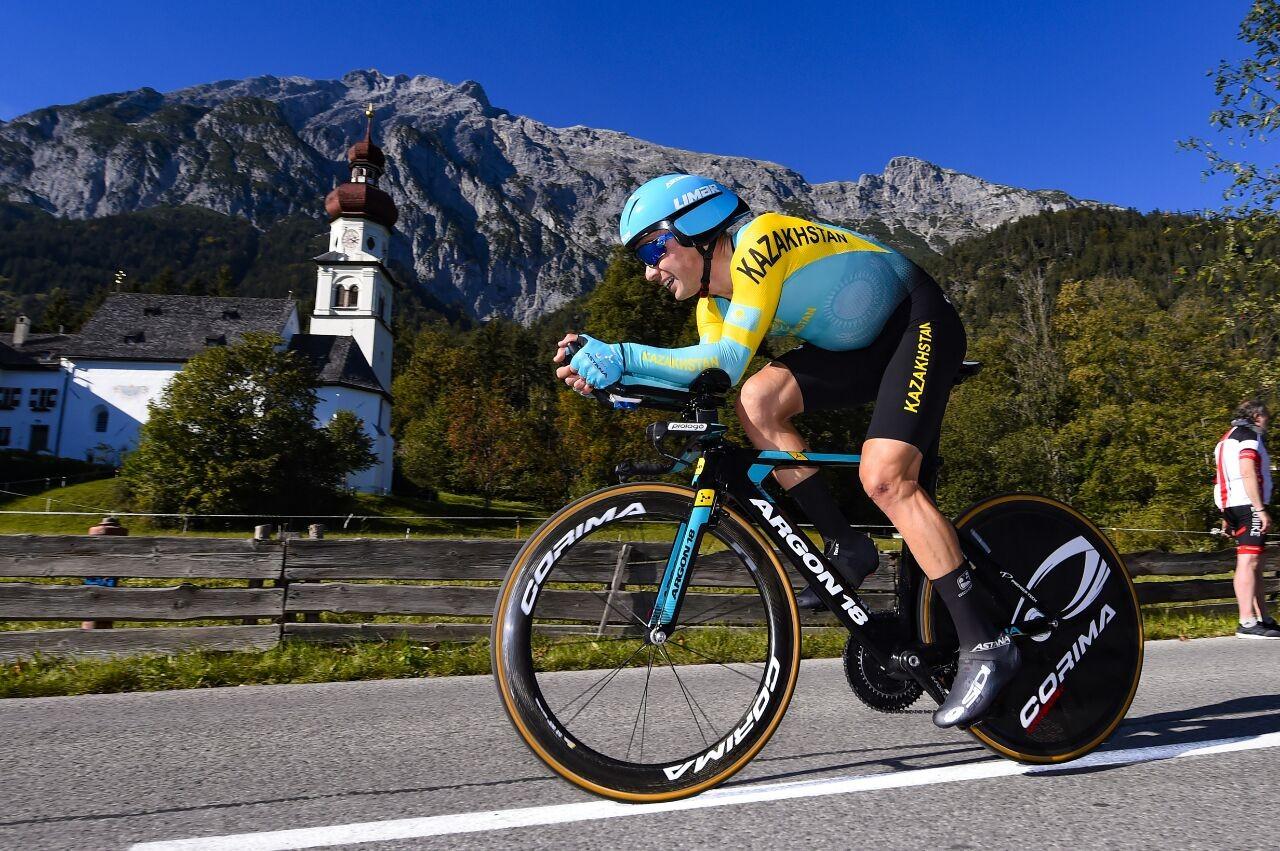 Чемпионат мира по шоссейному велоспорту: Луценко стал 13-м в «разделке»   , Спорт, Велоспорт