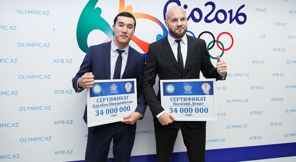 Левита и Ниязымбетова уравняли с чемпионами Рио