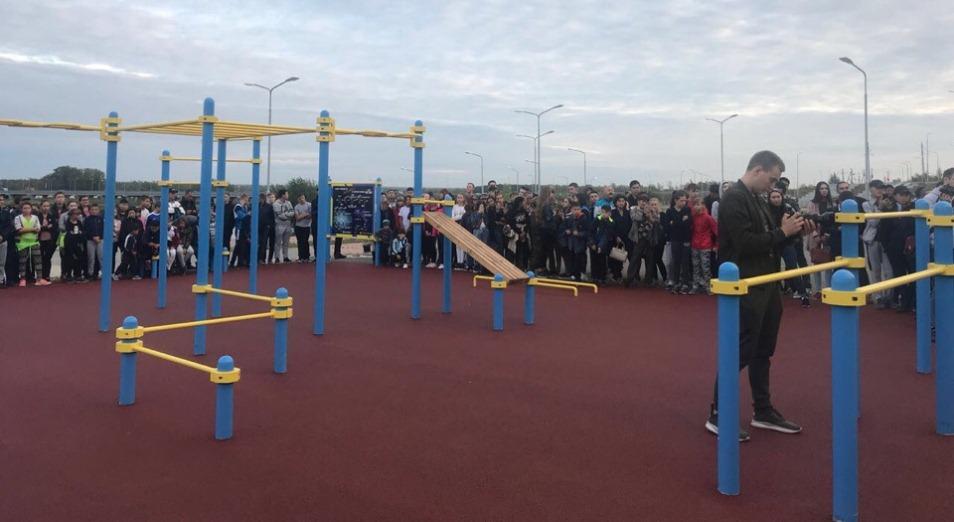 НОК РК покрыл специализированными площадками для занятий street workout все области Казахстана