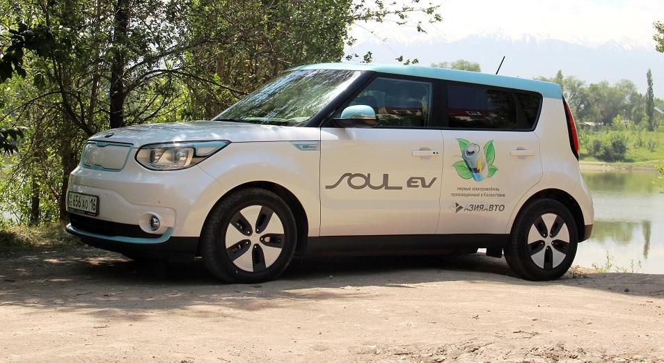 Abctv.kz взял на тест-драйв первый казахстанский электромобиль Kia Soul EV, тест-драйв,Kia Soul EV,АЗИЯ АВТО,электромобиль