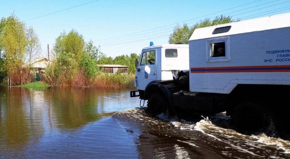 Паводок перетек по Иртышу и Ишиму в Россию