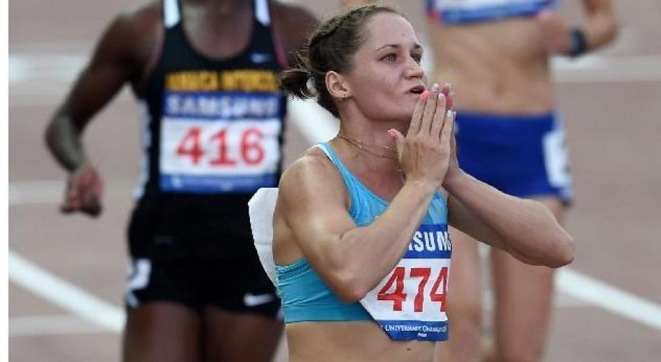 Казахстан собрал полный медальный комплект на ЧА по легкой атлетике