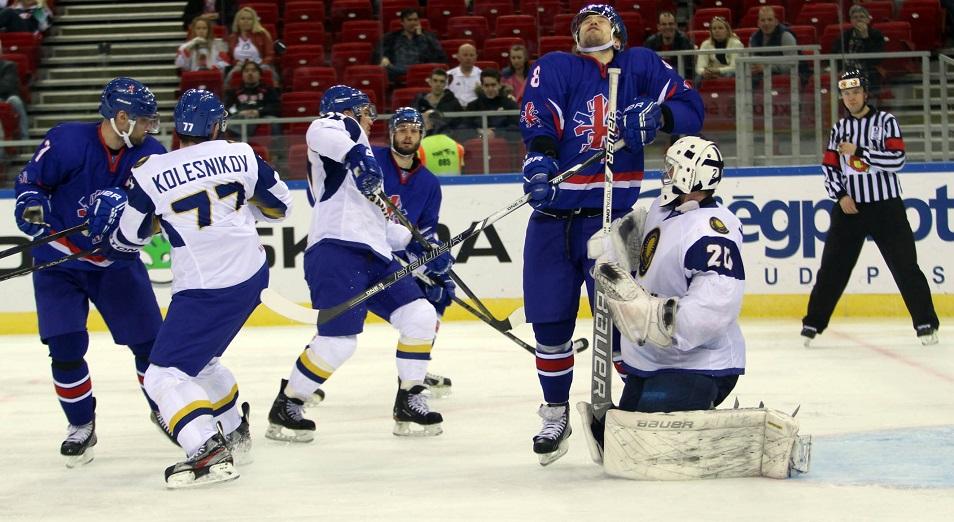 Казахстан в четвертый раз выиграл Еврочеллендж  , Казахстан,Еврочеллендж,Euro Ice Hockey Challenge,Европейский Хоккейный вызов,Сборная,команда,Антон Петров,Константин Савенков