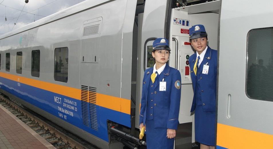 Скоростной поезд сократил уральцам время в пути до Астаны и Алматы