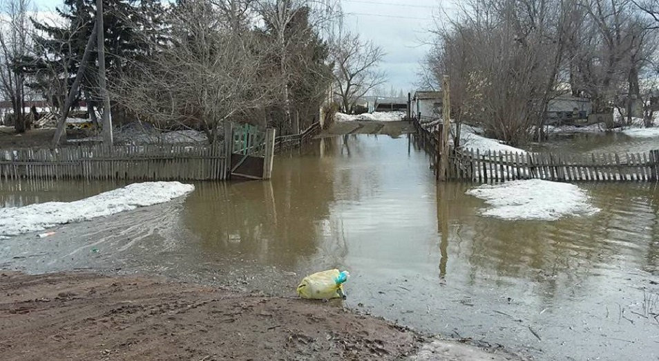 Жителей четырех поселков в СКО эвакуируют из-за паводка