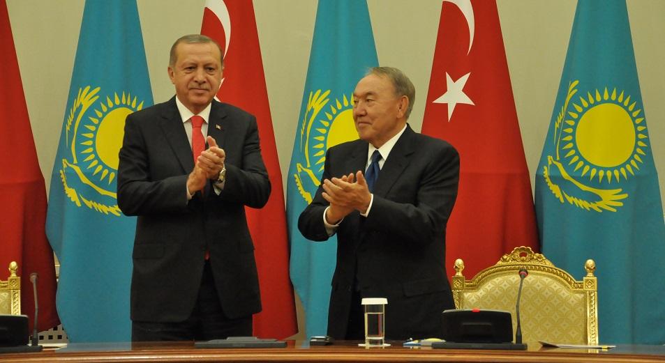 Новая синергия для Казахстана и Турции, Турция, Реджеп Тайип Эрдоган, Нурсултан Назарбаев, Товарооборот, БАКАД, Новая синергия, переговоры , Сирия
