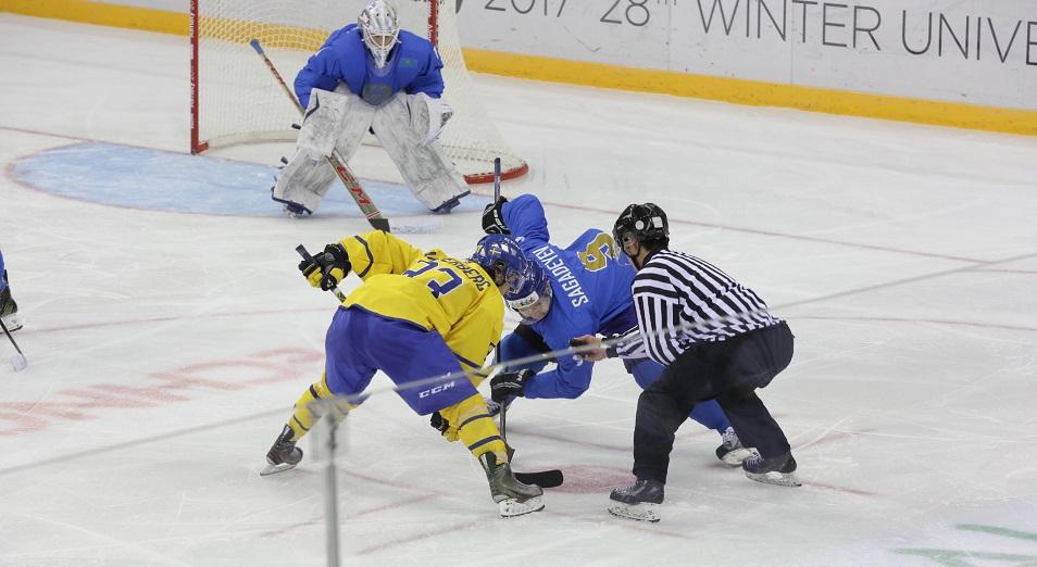 Универсиада: Казахстан – в четвертьфинале мужского хоккея
