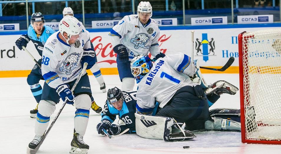 КХЛ: «Сибирь» остается для «Барыса» неприступной крепостью