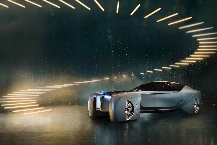 Rolls-Royce показал роскошное будущее, Rolls-Royce Vision Next 100,Rolls-Royce,Концепт-кар,Шоу-кар