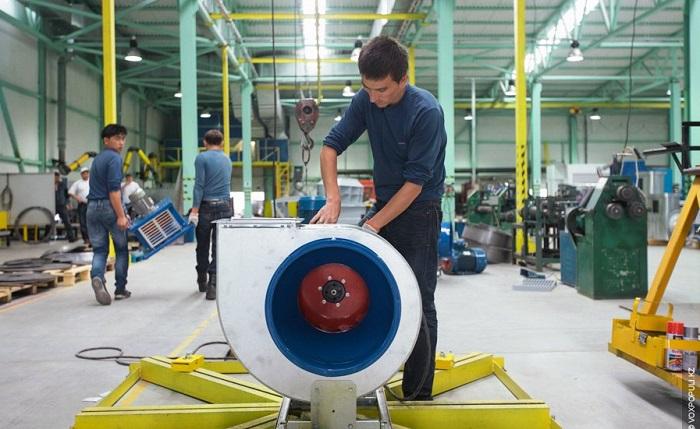Казахстанские вентиляторы немецкого качества экспортируют в Россию