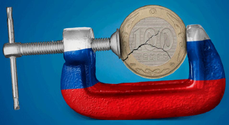 Негатив вокруг рубля играет против тенге
