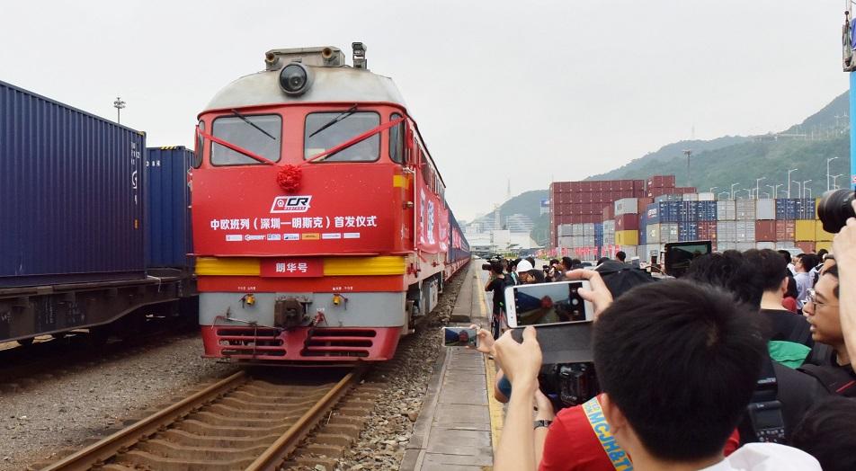 Китай докатился до Павлодара по железнодорожным путям , Китай, Павлодар, Железнодорожные пути, Павлодарская область, Поезд , Шаньси