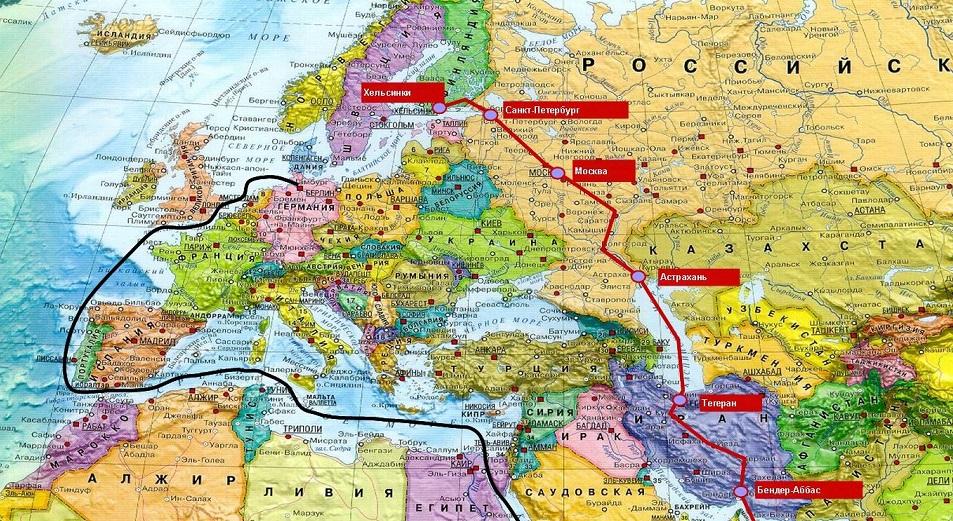 Иран, Россия и Азербайджан договорились о снижении транзитных тарифов на 50% , Иран,Россия,Азербайджан,Север – Юг,Транзитные тарифы