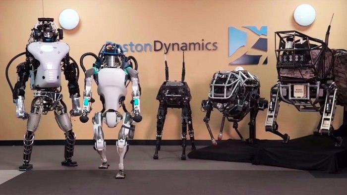 Boston Dynamics создала устойчивого к помехам робота